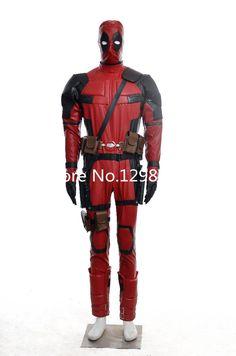 2015 hot film x-men deadpool cosplay deadpool cosplay costume superhero Costume for Halloween Party Christmas day #Affiliate