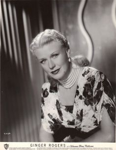 Ginger Rogers Golden Age Of Hollywood, Classic Hollywood, Old Hollywood, Hollywood Pictures, Fred And Ginger, Ginger Rogers, Interesting Faces, Virginia, People