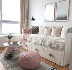 New room decor diy ideas bedrooms pillows Ideas Room Makeover, Room, Room Ideas Bedroom, Room Design, Living Room Decor, Daybed Room, Room Decor, Small Bedroom, Dream Rooms