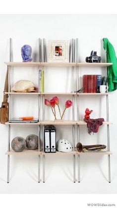 triple side home style Leaning Shelf, Shoe Rack, Shelves, Cool Stuff, House Styles, Room, Home Decor, Bedroom, Shelving