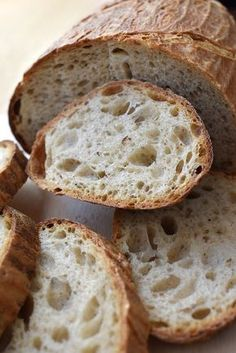 Food Recipes Homemade Cooking bread bakery To improve your cooking skills, click below Cooking Bread, Bread Baking, Bread Recipes, Baking Recipes, Czech Recipes, Vegan Bread, Savoury Dishes, Ciabatta, No Cook Meals