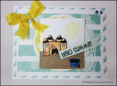 Hello Summer stamp set from My Thoughts Exactly