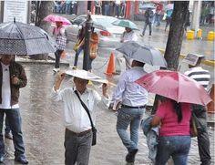 Inameh prevé domingo de cielos nublados y lluvias en gran parte del país