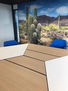 Trigon tables at the office. To collaborate and meet at the office The Office, Outdoor Furniture, Outdoor Decor, Sun Lounger, Workplace, Tables, Meet, Home Decor, Mesas