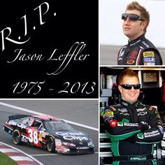 Keepinit Real Motor Sports News: Jason Leffler Dies In Accident  NASCAR driver Jason Leffler died after an accident Wednesday night at a dirt car event at Bridgeport Speedway. The 37-year-old Leffler, a two-time winner on the Nationwide Series, was pronounced dead shortly after 9 p.m. Leffler finished last Sunday at Pocono in his first NASCAR Sprint Cup start of the year.