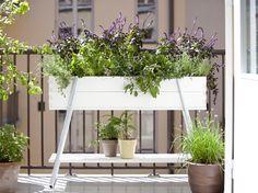 plants are friends Garden Planter Boxes, Garden Pots, Garden Coffee, Small Gardens, Outdoor Gardens, Grow Boxes, Wood Pallet Furniture, Scandinavian Living, Nordic Design