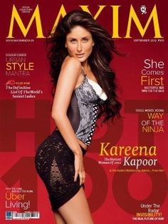 Kareena Kapoor for Maxim september Issue 2012