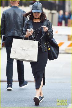 Vanessa Hudgens Takes Break From 'Powerless' For Some Shopping