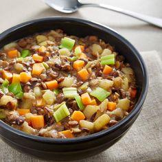Linseneintopf - Ein Rezept für Prep&Cook von KRUPS
