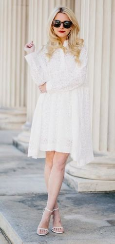 Felicity & coco floral lace shift dress (nordstrom exclusive)