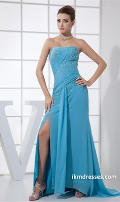 antastic Beading Chiffon Silk-like Satin Floor-Length Pageant Dresses http://www.ikmdresses.com/Fantastic-Beading-Chiffon-Silk-like-Satin-Floor-Length-Pageant-Dresses-p19350