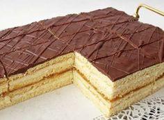 Ez a hamis krémtúrós recept eddig senkinek nem okozott csalódást Hungarian Cake, Hungarian Recipes, Czech Recipes, Ethnic Recipes, Cupcakes, Dessert Drinks, Let Them Eat Cake, Nutella, Cooking Recipes