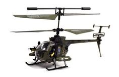 "YIBOO UJ4705 Mini 3.5 Channel Army Defender 8"" RC Helicopter w/ Gyro - Green Sale Price: $24.99"