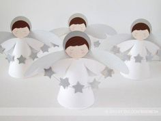 Christmas Angels, Christmas Art, Christmas Projects, Christmas Decorations, Christmas Ornaments, Baby Baptism, Baptism Party, Christening, Première Communion