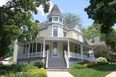 OldHouses.com - 1891 Victorian: Queen Anne - Featured Home At The West Chicago IL Historic Museum - And Rightfully So! in West Chicago, Illinois
