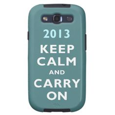 Keep calm and carry on galaxy s3 cases