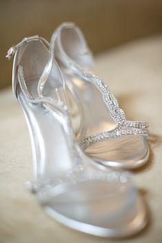 Bride Cherralle Alexander's wedding shoes!