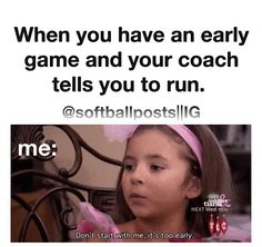 11 Things Fastpitch Softball Players Know To Be True - Funny Sports - - You wanted to be a pitcher just so you didn't have to do outfield drills. The post 11 Things Fastpitch Softball Players Know To Be True appeared first on Gag Dad. Funny Softball Quotes, Volleyball Jokes, Soccer Jokes, Softball Cheers, Basketball Memes, Funny Sports Memes, Girls Softball, Volleyball Drills, Soccer Stuff