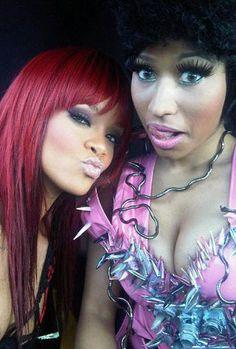 Nicki Minaj vs Rihanna. Le match des MCs, à l'aube des 40e American Music Awards