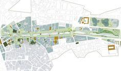 Segundo Lugar Concurso De Ideas Para La Integración Urbana Del Río Guadalmedina,Tramo 2