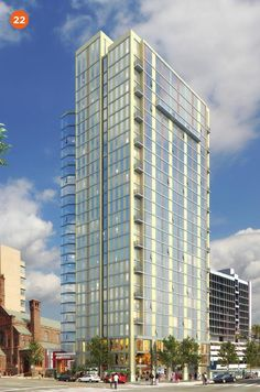 3737 Chestnut Apartments - a 25-story, 276-unit residential apartment tower currently under development by Radnor Property Group in the #UniversityCity section of #Philadelphia
