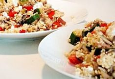 Cukkinis-gombás kuszkusz feta sajttal Easy Healthy Recipes, Easy Meals, Quiche Muffins, Recipe Using, Fried Rice, Pesto, Healthy Lifestyle, Recipies, Dishes