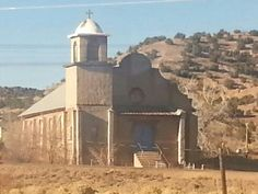 Old church in Lamy, New Mexico
