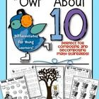 You+are+receiving+games/work+pages+to+support+the+Decomposing/Composing+Math+Standard+for+Kindergarten!  This+pack+includes+the+following: (All+exc...