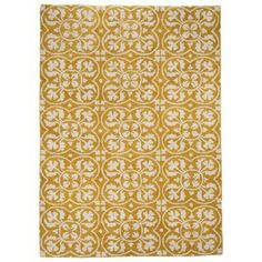 Threshold™ Lattice Area Rug - Yellow