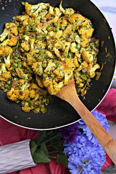 Gobi Methi Dry/Cauliflower Fenugreek Curry%