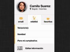 Profile module by Diego Valbuena
