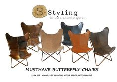 Musthave Butterfly chair #Vlinderstoel S-Styling