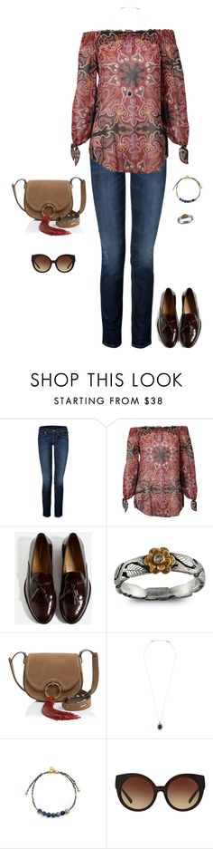 """Untitled #896"" by tracileigh01 ❤ liked on Polyvore featuring True Religion, Rachel Zoe, Emma Chapman, Tory Burch, Alex and Ani and Michael Kors"