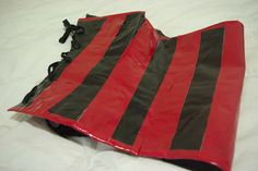 How To Make A Duct Tape Corset------do not attempt without a partner