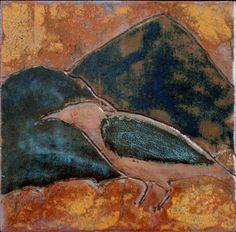 Crow Reek Ceramic Artists, Crow, Ceramics, Landscape, Drawings, Pictures, Painting, Animals, Ceramica