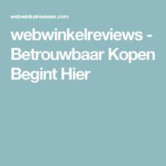 webwinkelreviews - Betrouwbaar Kopen Begint Hier