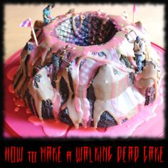 #ad How to Make a Walking Dead Cake