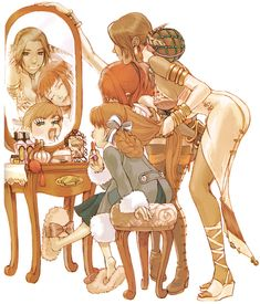 Anastasia, Karin, & Lucia