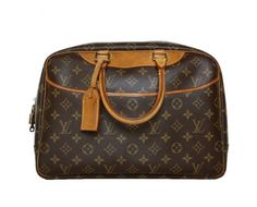 Louis Vuitton Deauville i Monogram Canvas.