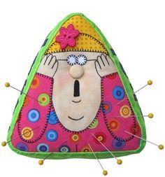 Pinny Cush Pincushion Pattern from Amy Bradley Designs. Pdf Sewing Patterns, Quilt Patterns, Pincushion Patterns, Sewing Kits, Sewing Appliques, Applique Patterns, Sewing Ideas, Sewing Crafts, Sewing Projects