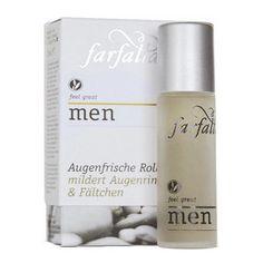 Farfalla men Augenfrische Roll-on 10 ml: https://www.nordjung.de/farfalla-men-augenfrische-roll-on-10-ml #naturkosmetik #farfalla #rollon