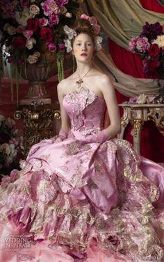 Stella De Libero 2014   Stella de Libero bu romantik 2014 renkli gelinlik modelleri ile ...