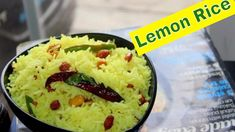 Lemon Rice Recipe|Easy & Healthy South Indian Rice|Easy Lunch Recipes|Ki...