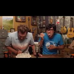 Rhett And Link Are Awesome!! — Spitting out your food can be contagious!...
