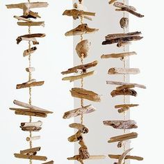 idea for a DIY project: driftwood mobile