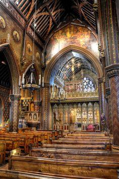 The Roman Catholic Church of St Gilesin. Cheadle - Staffordshire