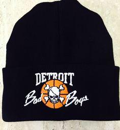 Detroit Bad Boys Beanie fold back cap in stock now @ DonnaSacs.Com