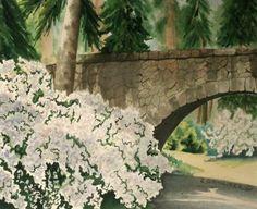 Bridge at Manito Park by Carol Schmauder   Flootie.com