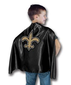 This New Orleans Saints Hero Cape by Bleacher Creatures is perfect! #zulilyfinds