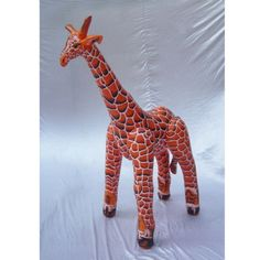 Inflatable Giraffe at theBIGzoo.com, a family-owned store. Check our sales & FREE Shipping.